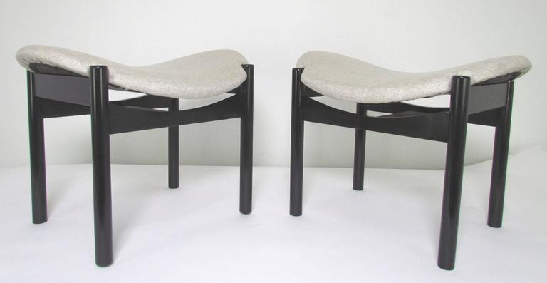 Rare Pair Of Midcentury Benches By Arthur Umanoff For