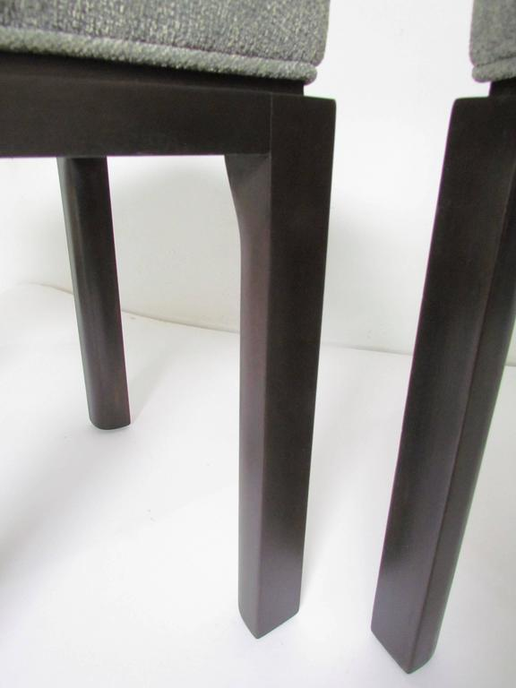 Mid-20th Century Pair of Mid-Century Modern Stools by Harvey Probber For Sale