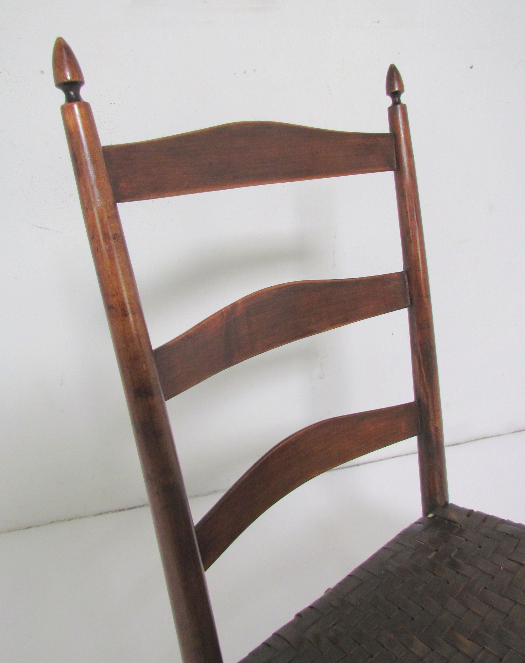 Authentic Original Mt. Lebanon Shaker No. 3 Rocking Chair at 1stdibs