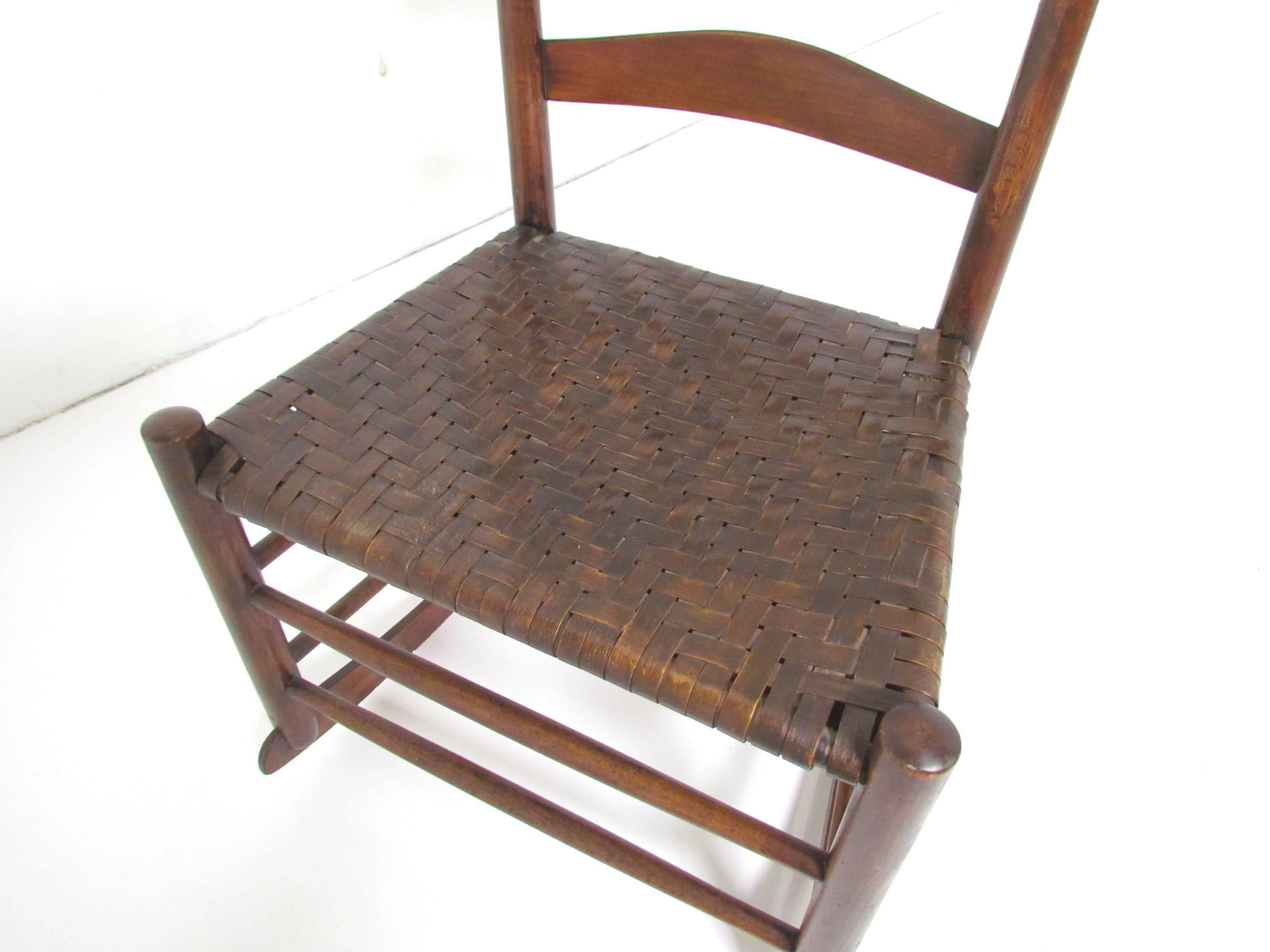 Authentic Original Mt. Lebanon Shaker No. 3 Rocking Chair 3
