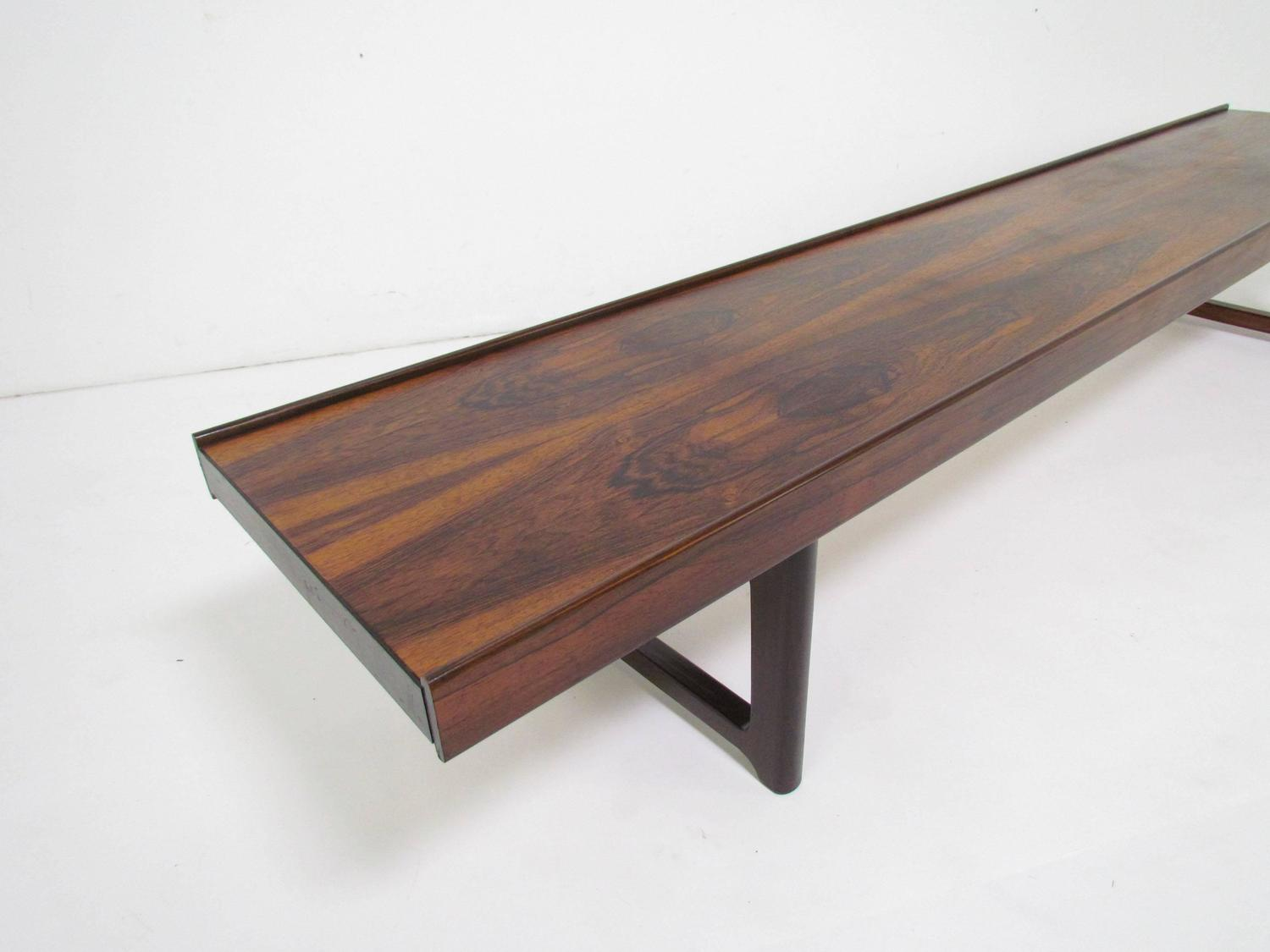 Extra Large Rosewood Bench Or Coffee Table By Torbj Rn Afdal For