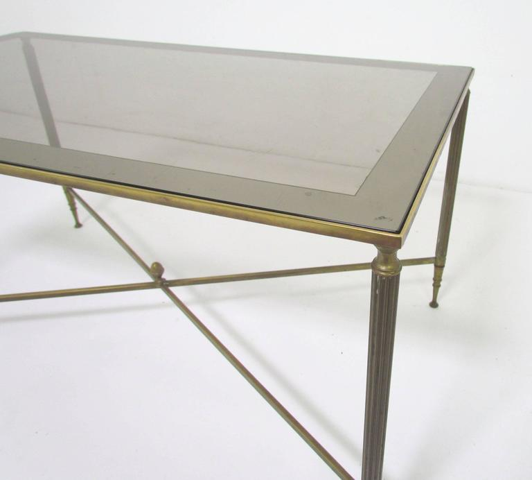 Unknown Hollywood Regency Cocktail Coffee Table in the Style of Maison Jansen For Sale