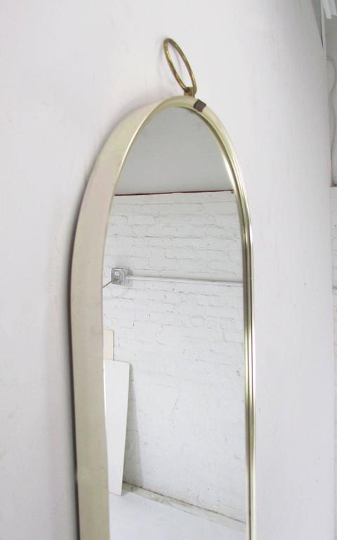 full length mirror with storage plans wood framed wall white modernist oval circa ikea