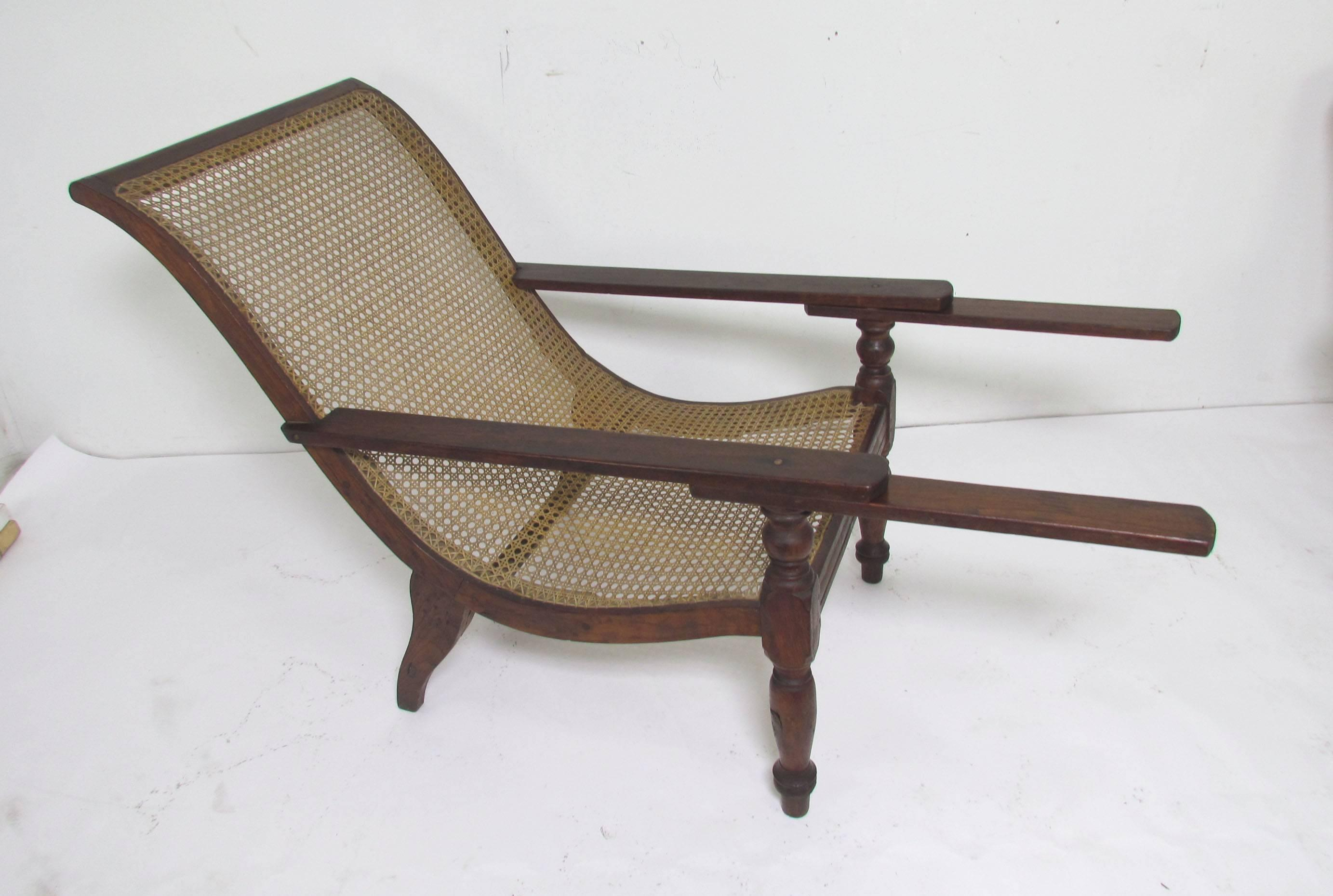 Genial Antique Paddle Arm British Colonial Plantation Lounge Chairs For Sale At  1stdibs
