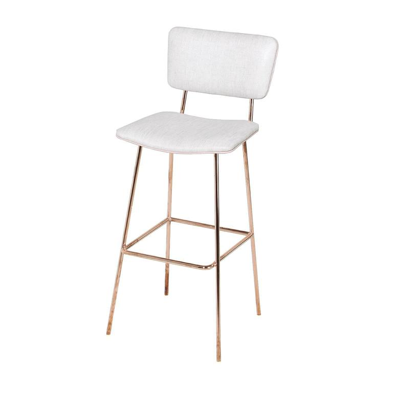 The Stationary Copper Frame Cojo Stool By Thomas Hayes