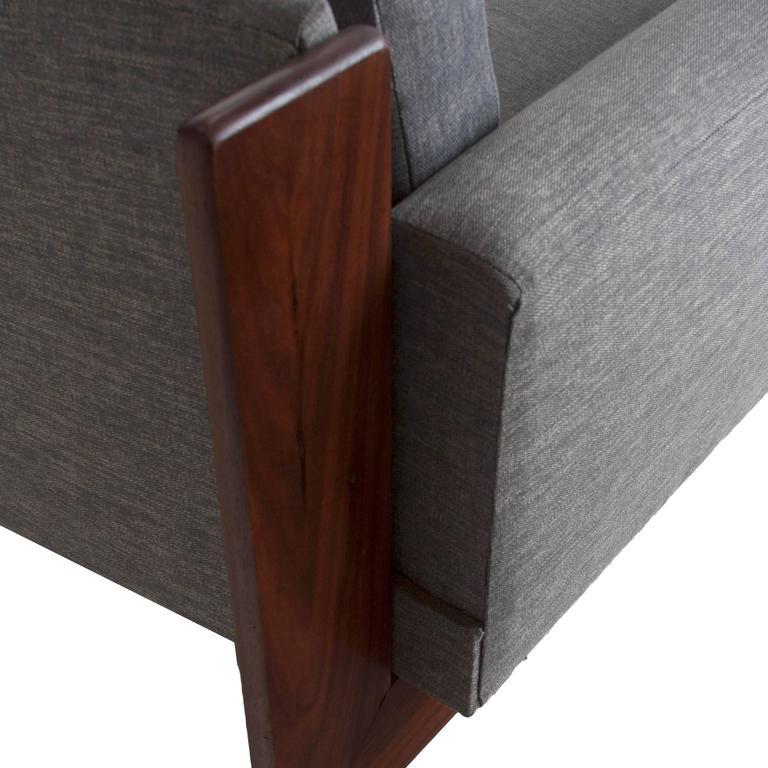 Mid-Century Curved Sofa 3