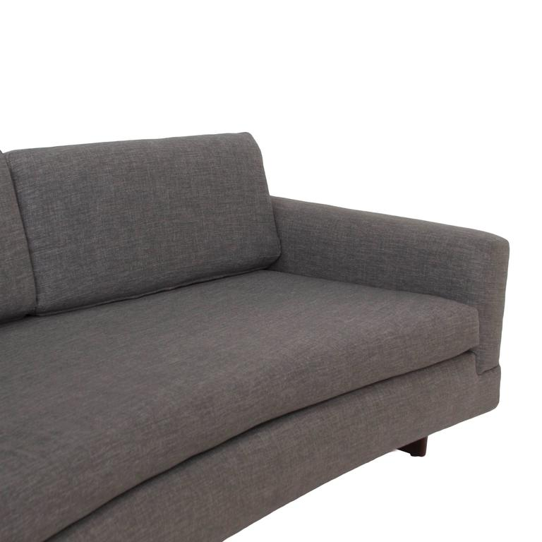 Mid-Century Curved Sofa 5