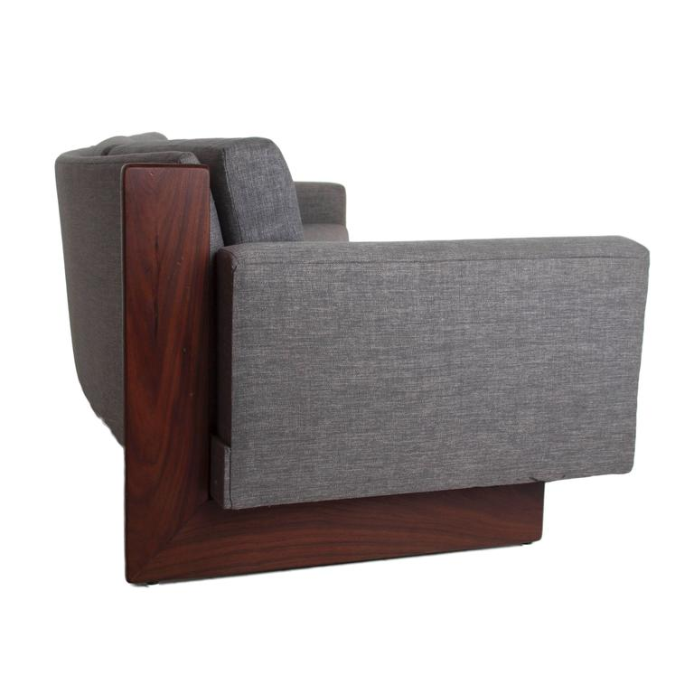 Mid-Century Curved Sofa 6