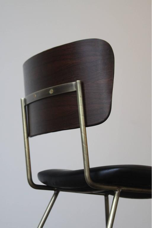 Cojo Dining Chair in Brass by Thomas Hayes Studio 4