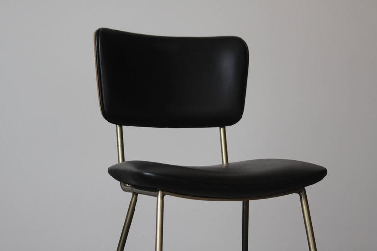 Cojo Dining Chair in Brass by Thomas Hayes Studio 5