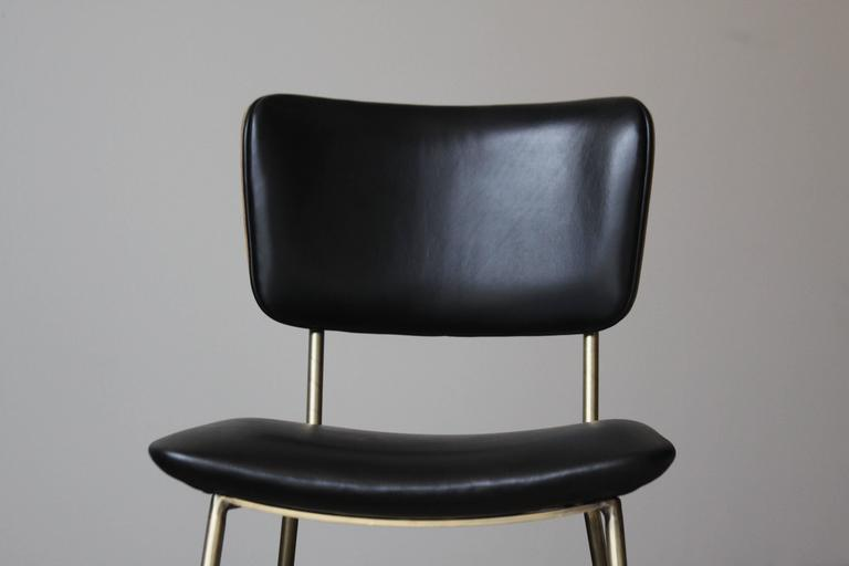 Cojo Dining Chair in Brass by Thomas Hayes Studio 7