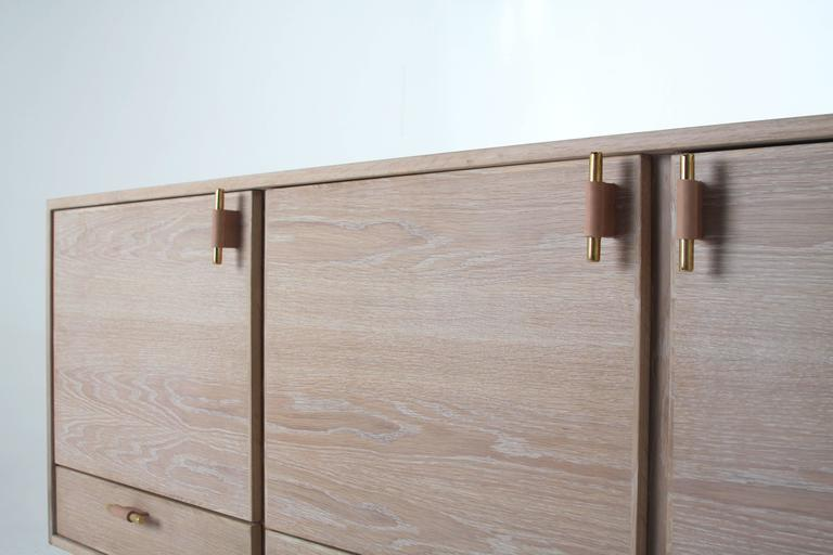 Contemporary Josephine Credenza by Thomas Hayes Studio For Sale