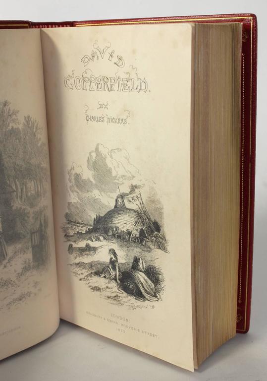 First Edition David Copperfield In Excellent Condition For Sale In Kilmarnock, VA
