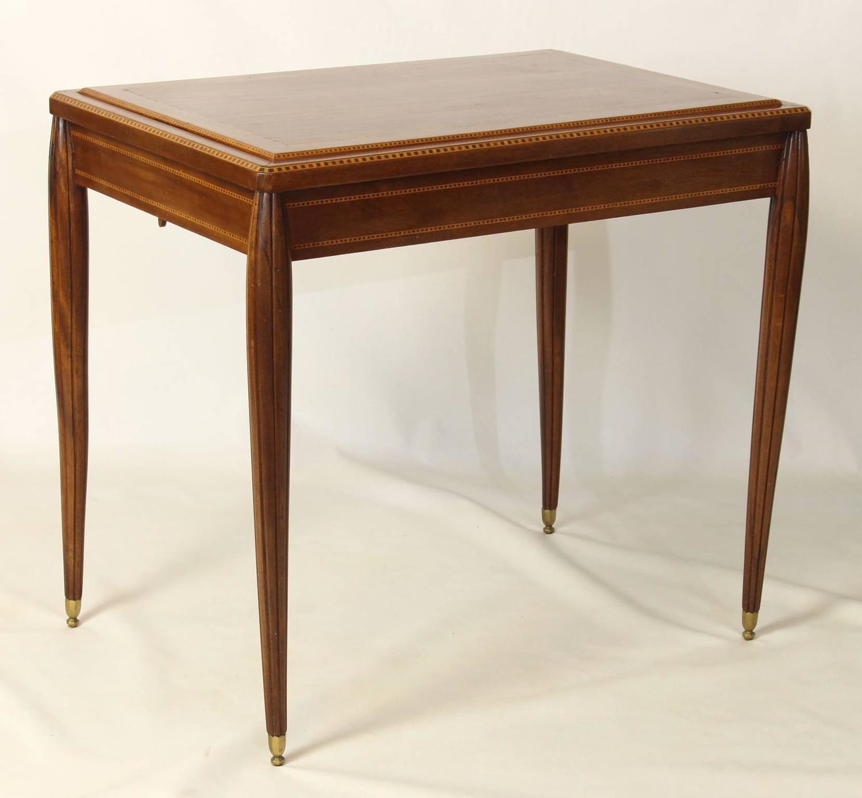 french art deco backgammon games table at 1stdibs. Black Bedroom Furniture Sets. Home Design Ideas