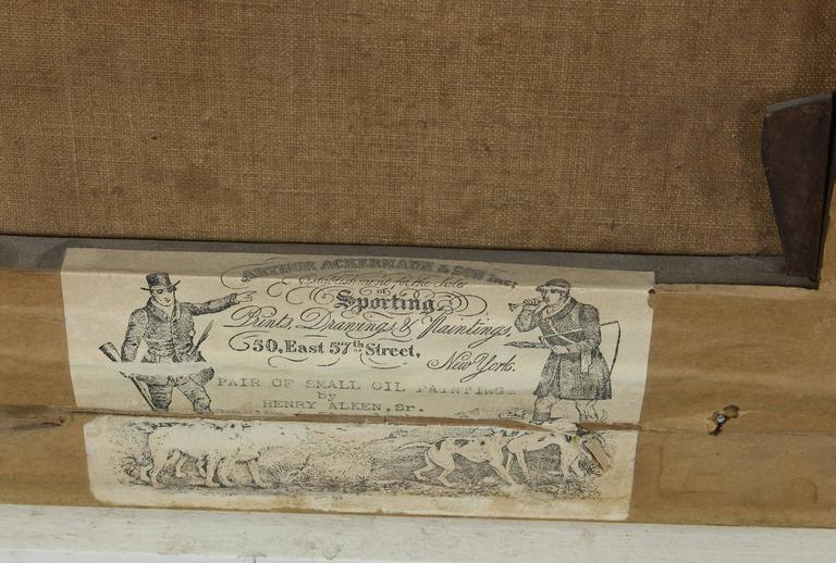 Pair of Early 19th Century English Sporting Paintings by Henry Alken 4