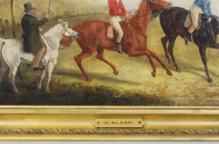 Pair of Early 19th Century English Sporting Paintings by Henry Alken 2