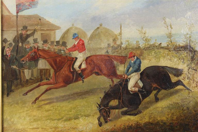 Pair of Early 19th Century English Sporting Paintings by Henry Alken 1