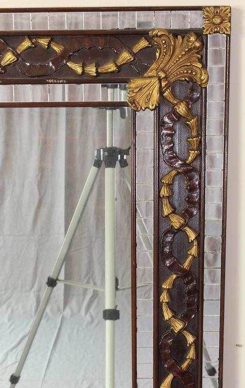 American Art Deco Mosaic Mirror For Sale