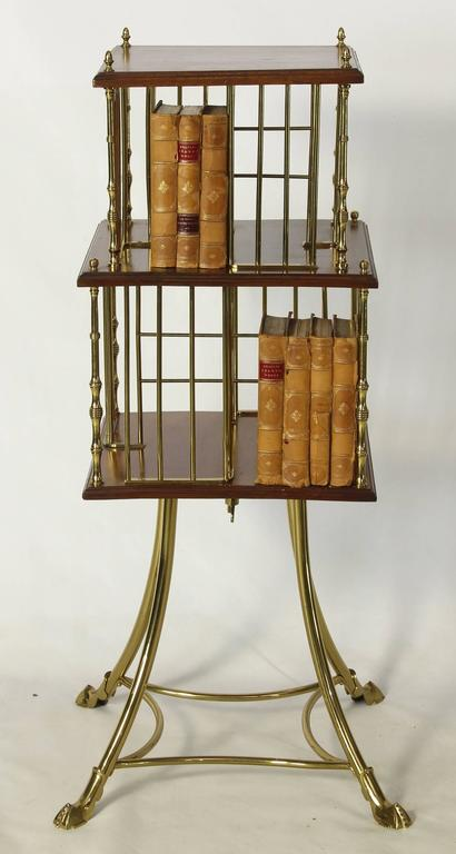 Great Britain (UK) Edwardian Revolving Bookstand For Sale