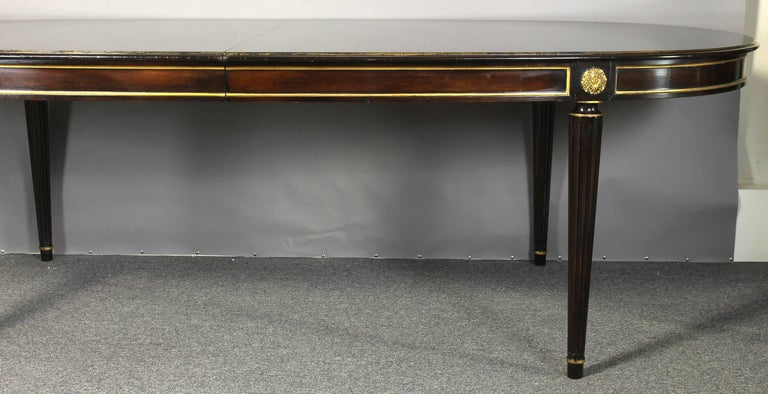 Louis XVI Style Maison Jansen Inspired Dining Table For Sale 2