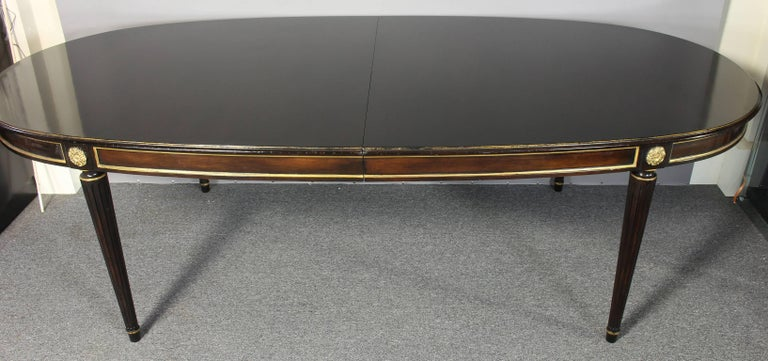 Mid-20th Century Louis XVI Style Maison Jansen Inspired Dining Table For Sale