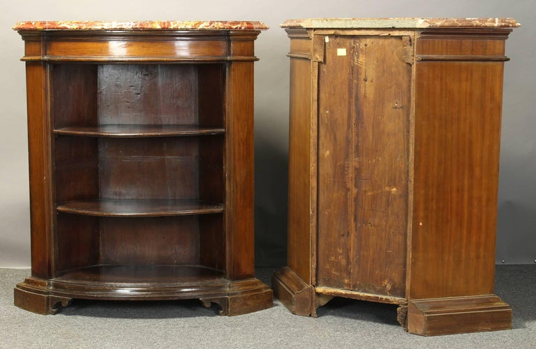 Pair of Open Bookcase Cabinets In Good Condition For Sale In Kilmarnock, VA