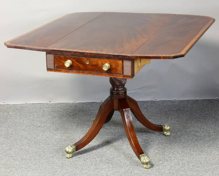 Regency Mahogany Pembroke Table 2