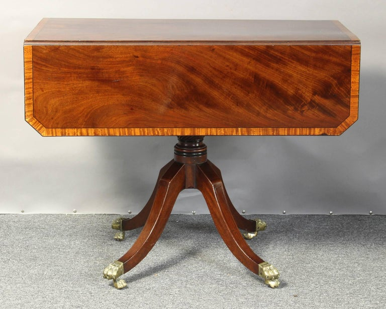 Regency Mahogany Pembroke Table 4