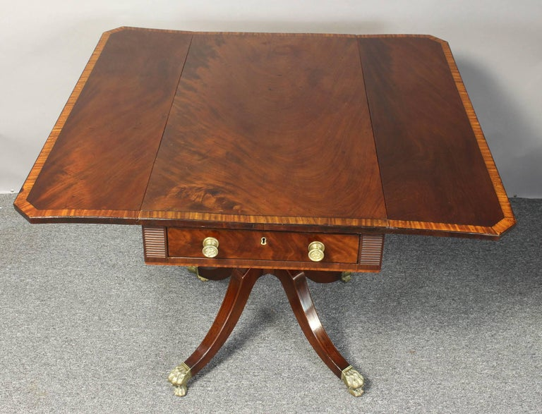 Regency Mahogany Pembroke Table 6