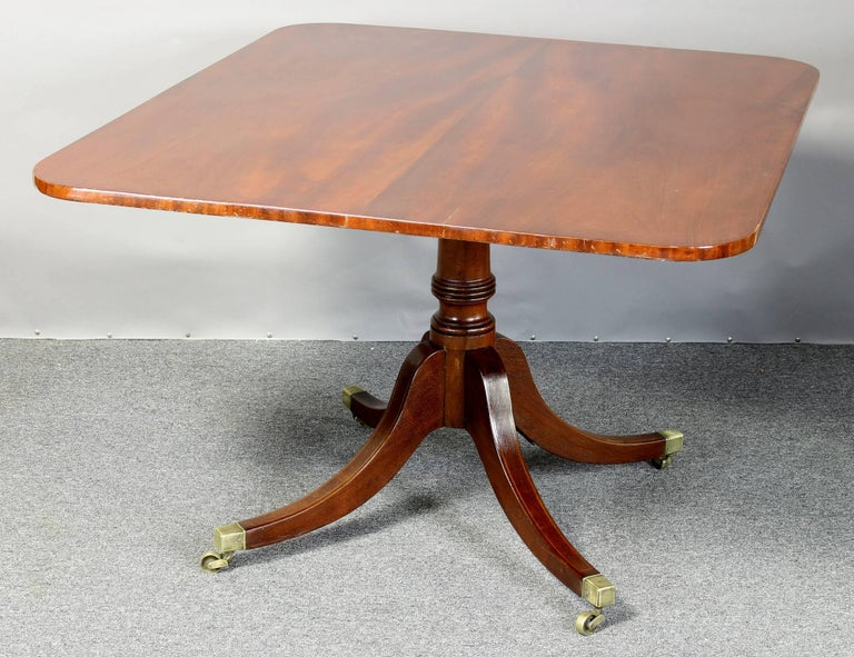 Great Britain (UK) English Regency Mahogany Breakfast Table For Sale