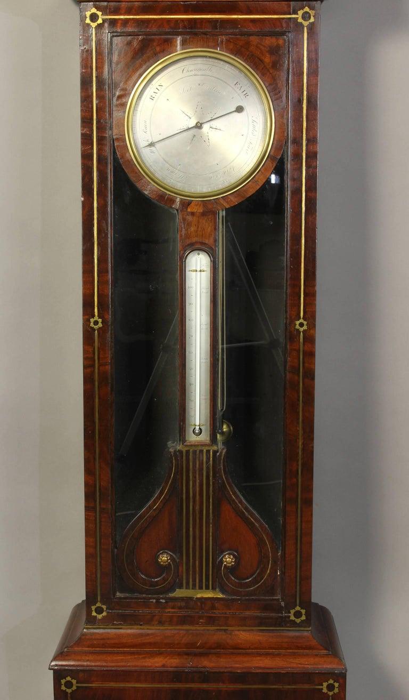 Irish Regency Eight Day Tall Case Clock 6