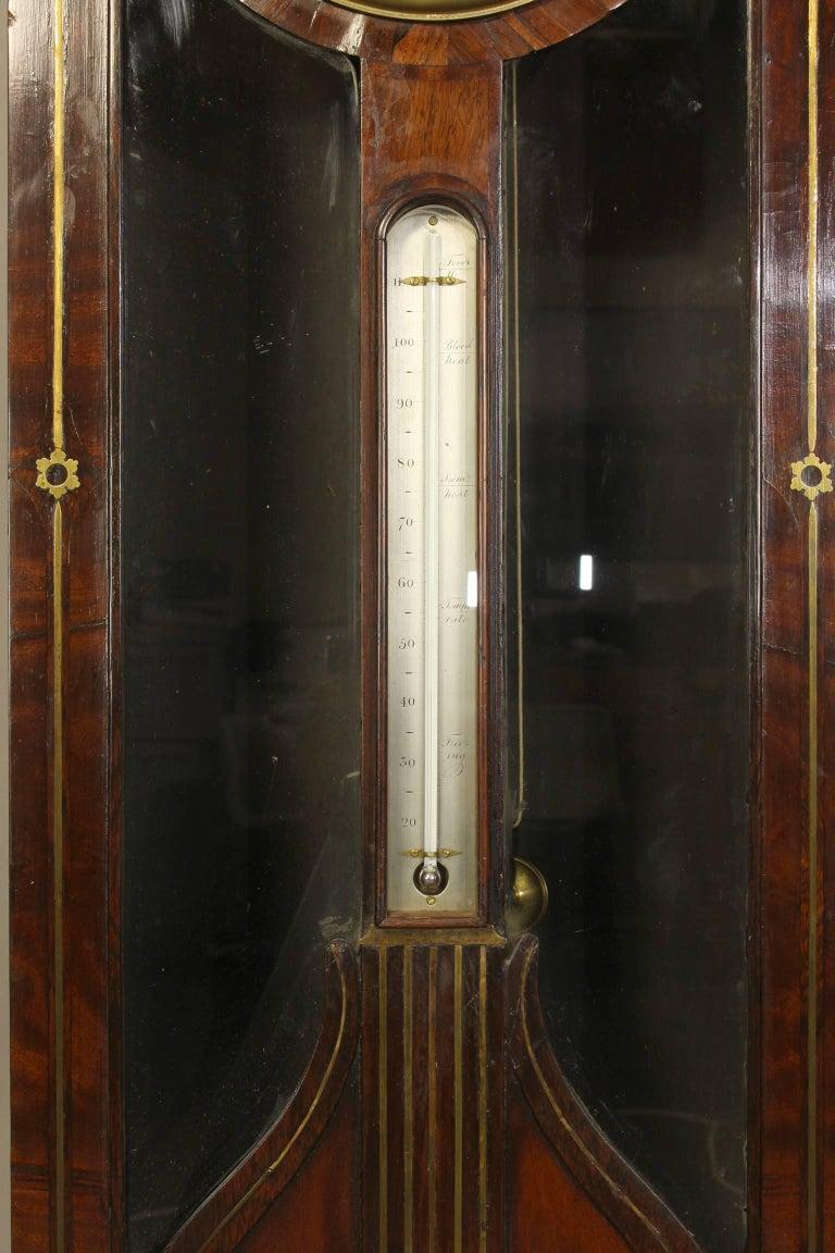Irish Regency Eight Day Tall Case Clock 9
