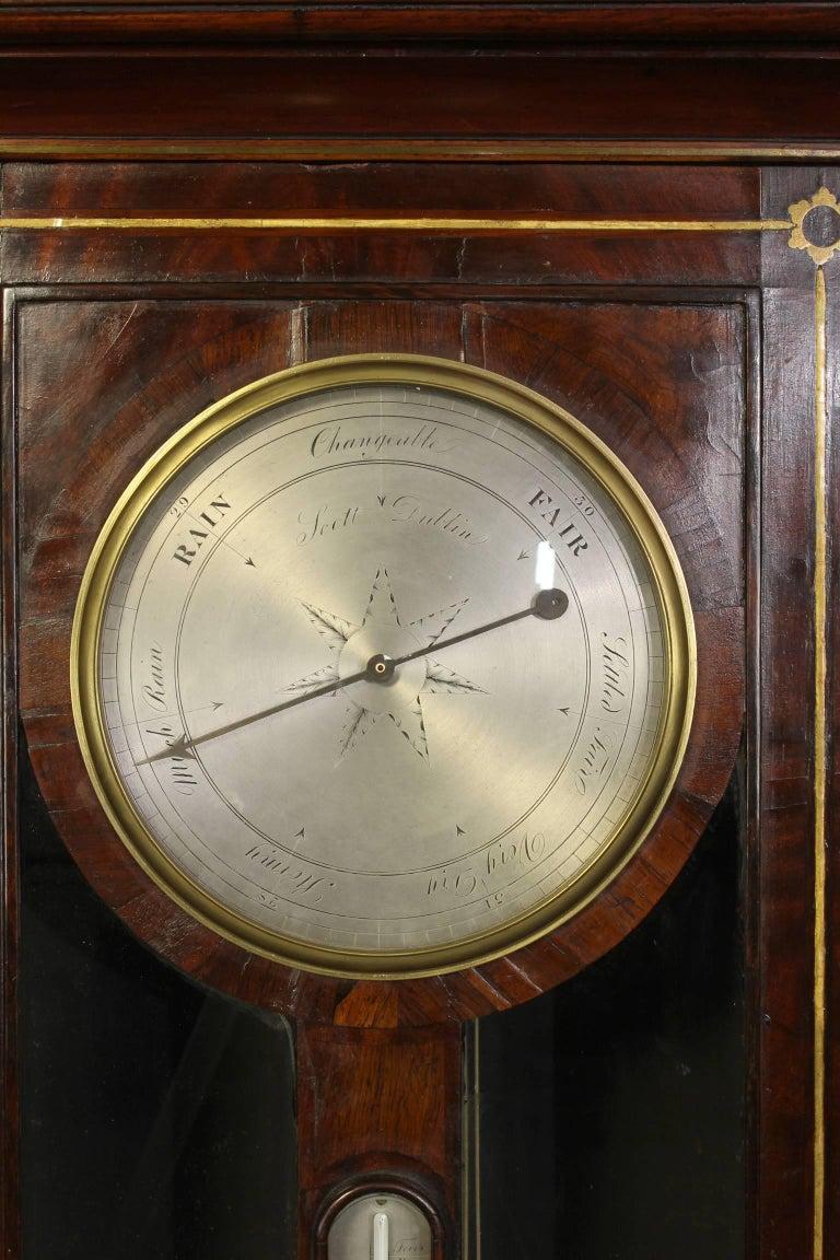 Irish Regency Eight Day Tall Case Clock 8