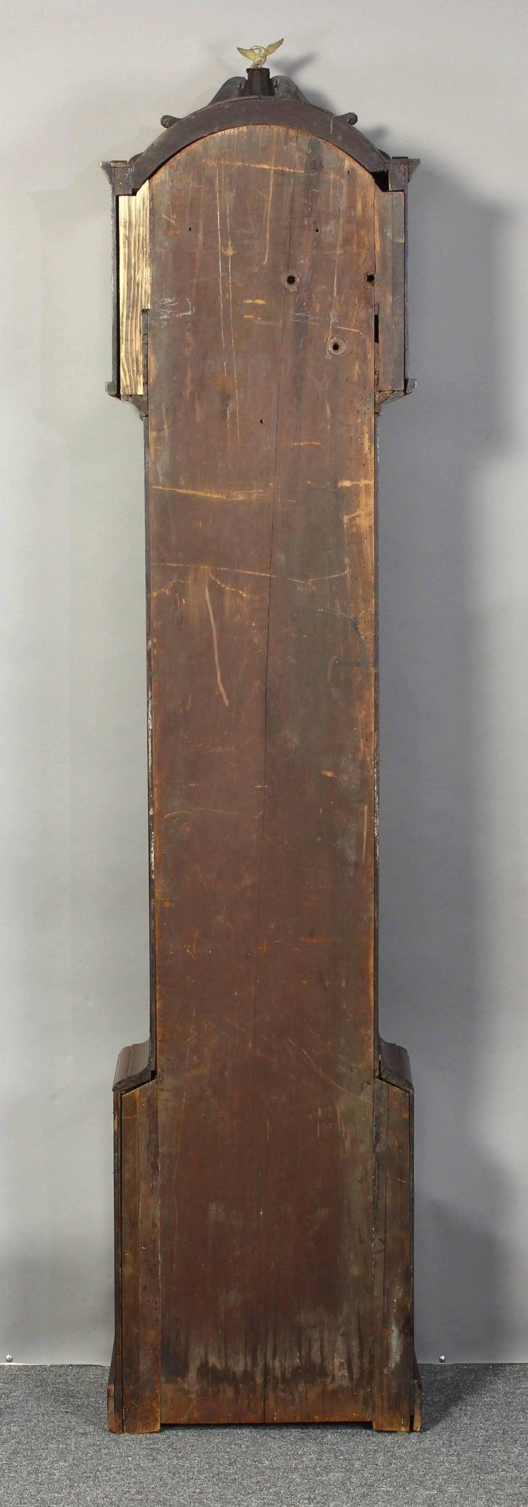Irish Regency Eight Day Tall Case Clock 3