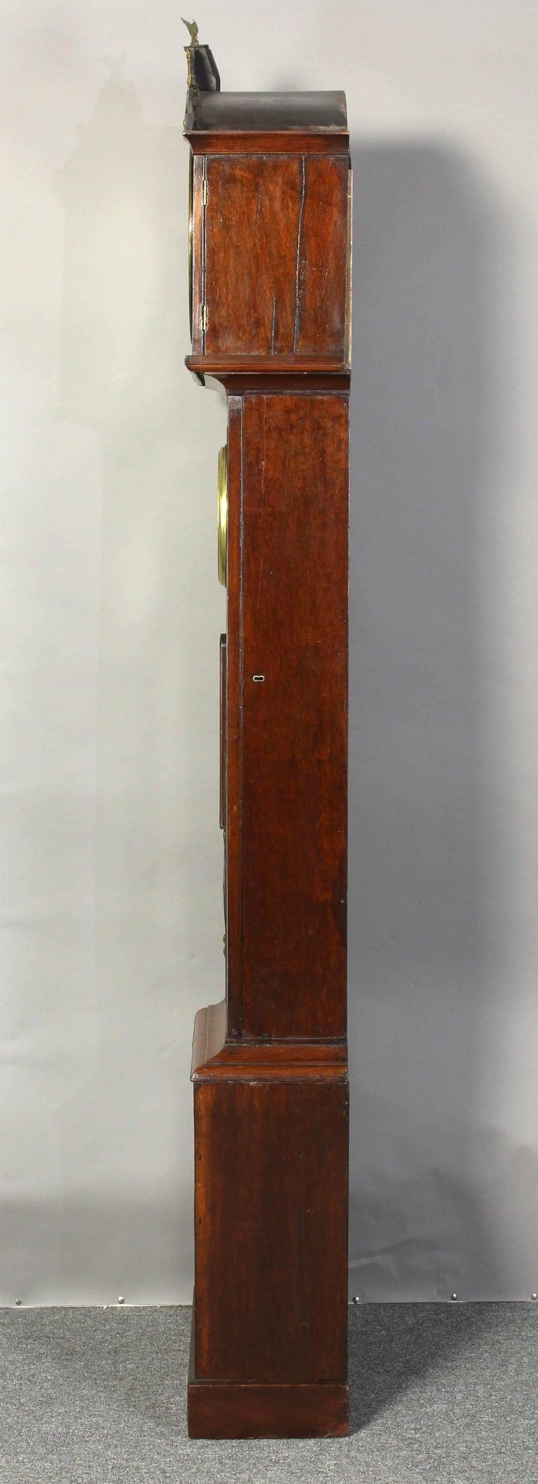 Irish Regency Eight Day Tall Case Clock 4