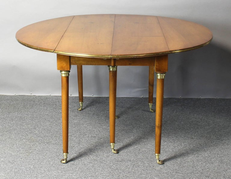Early 19th Century French Directoire Extending Dining Table 6