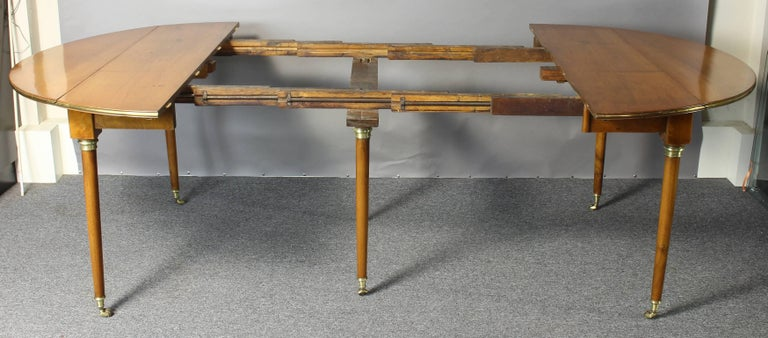 Early 19th Century French Directoire Extending Dining Table 4