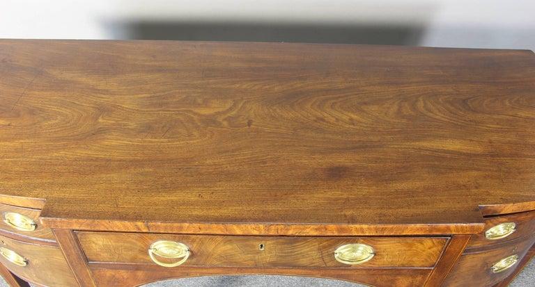 George III Mahogany Sideboard 8