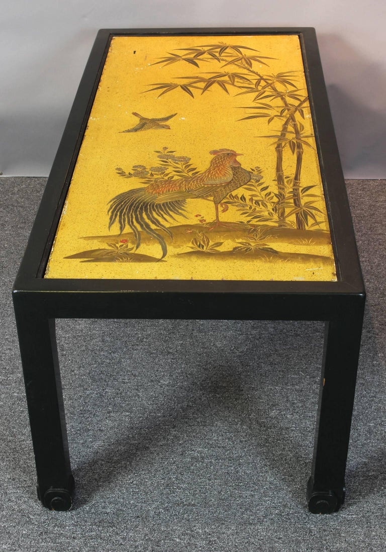 Chinoiserie Lacquered Cocktail Table 9