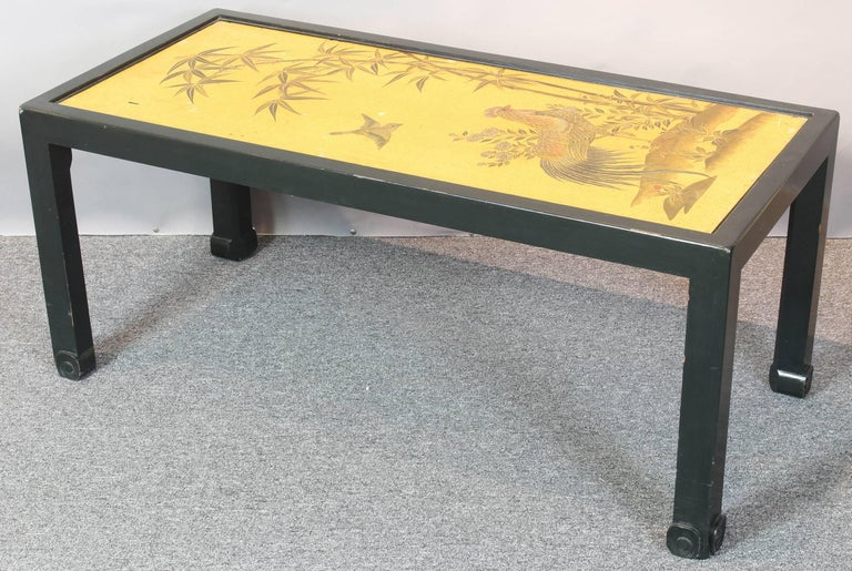 Chinoiserie Lacquered Cocktail Table 8