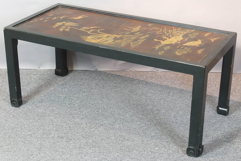 Chinoiserie Lacquered Cocktail Table 3
