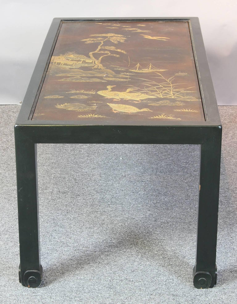 Chinoiserie Lacquered Cocktail Table 4