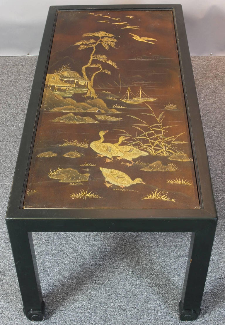 Chinoiserie Lacquered Cocktail Table 5