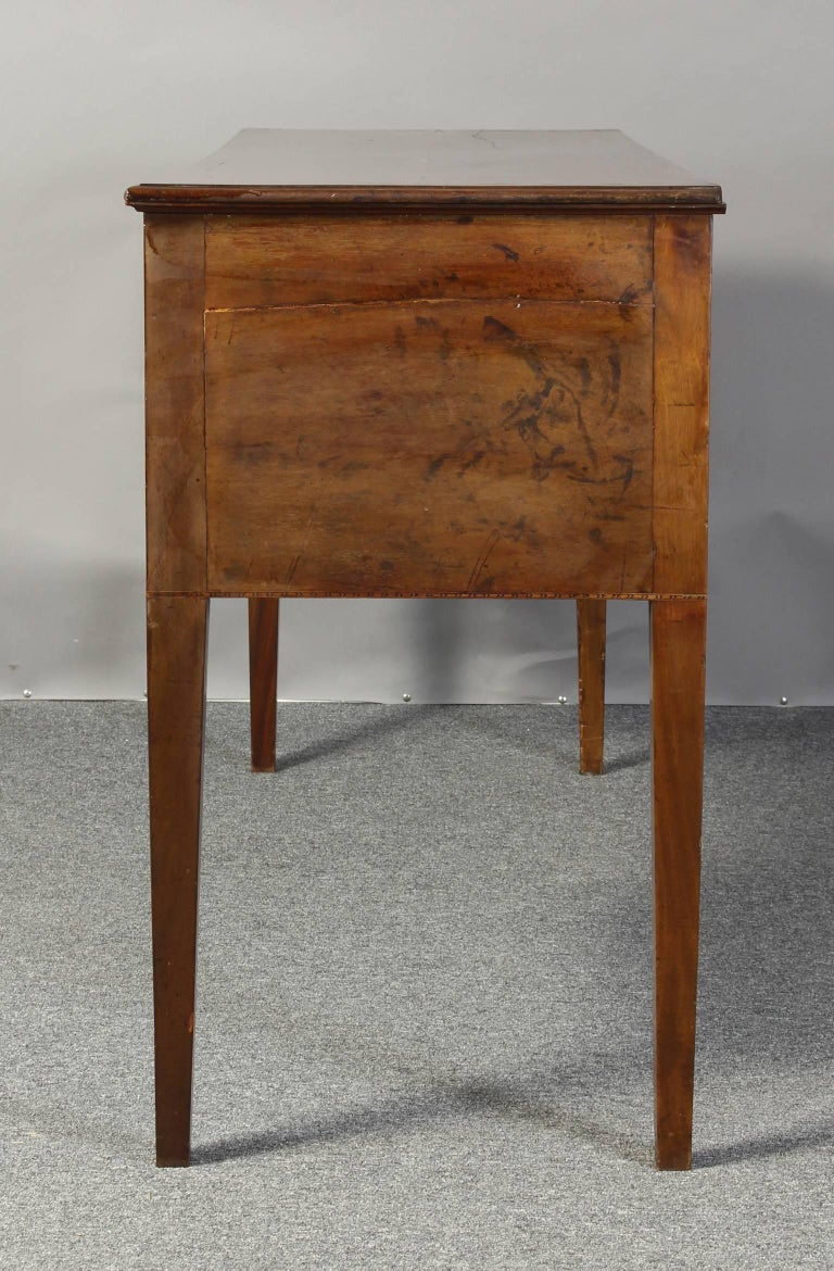 George III 19th Century English Mahogany Console Table or Server For Sale