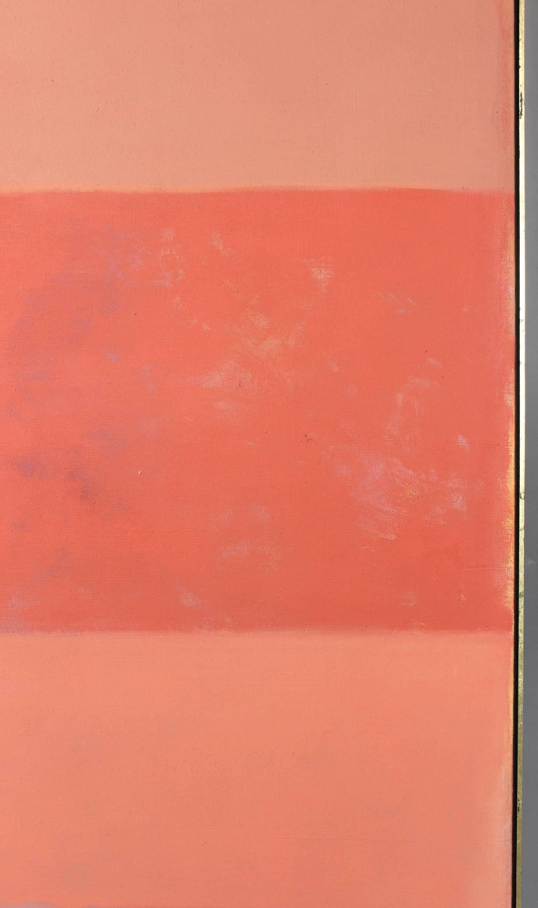 Large Abstract Painting in the Style of Rothko In Excellent Condition For Sale In Kilmarnock, VA