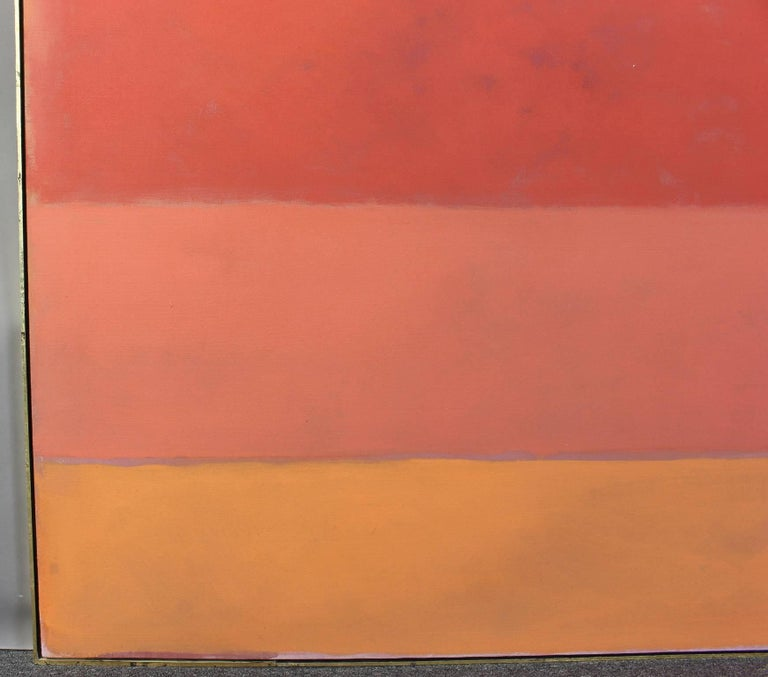 Contemporary Large Abstract Painting in the Style of Rothko For Sale