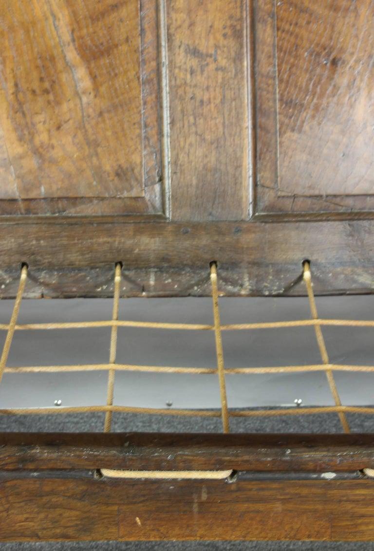 18th Century English Oak Settle For Sale 3