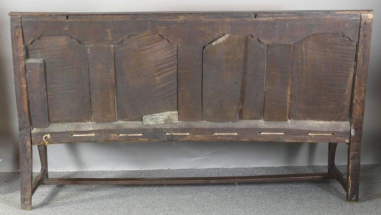 Mid-18th Century 18th Century English Oak Settle For Sale