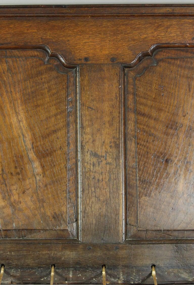 18th Century English Oak Settle For Sale 2