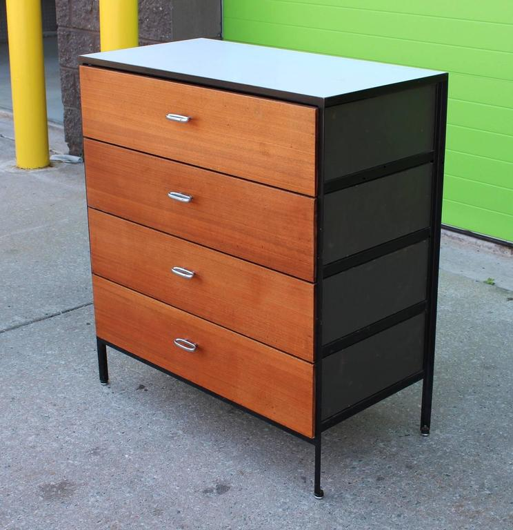 American George Nelson Secretary and Chest of Drawers for Herman Miller For Sale